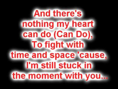 Justin Bieber - Stuck In The Moment (Lyrics On Screen) My World 2.0 2010