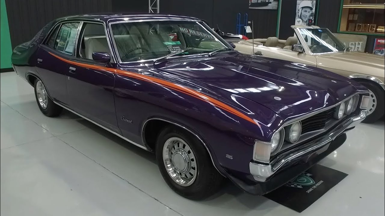 1973 Ford XA Fairmont GS Sedan - 2017 Shannons Melbourne Winter Classic Auction