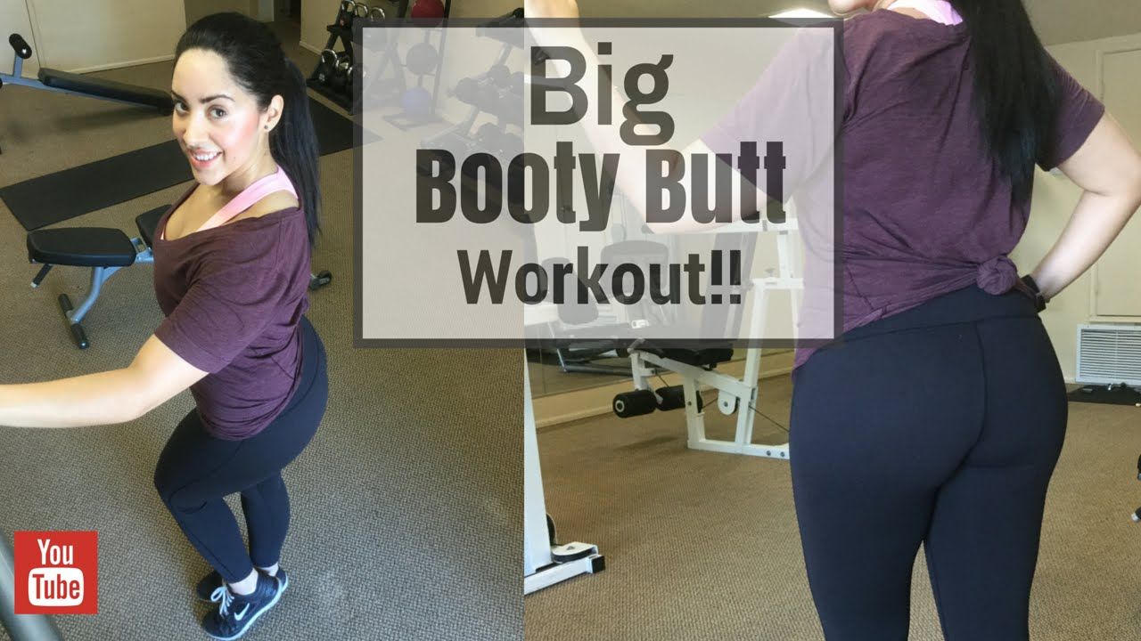 big booty butt workout - youtube