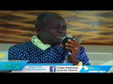 Papa Diangienda message spirituel : Ngay kindoki nanga nayabango ezosimbate pona nini.....?