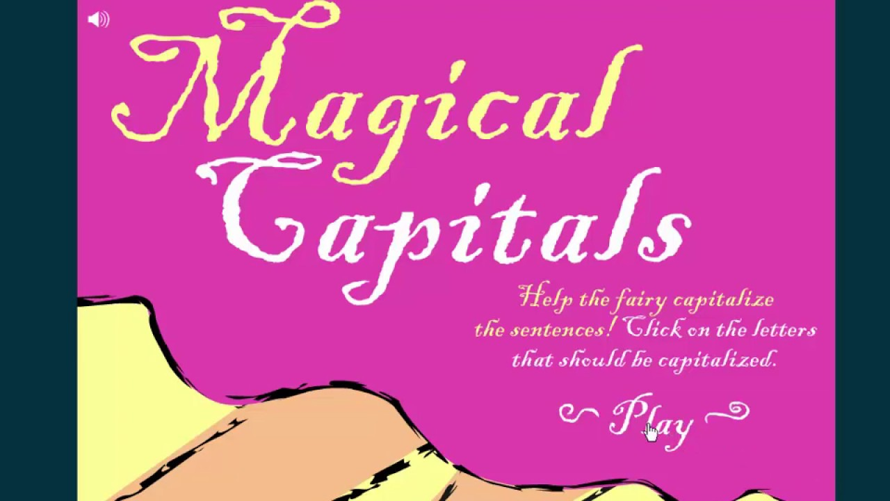 Magic Capitals - learn all about capitalization! - YouTube