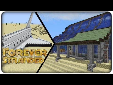 [Lets Play] Forever Stranded : E25 - New Future-Rustic building style