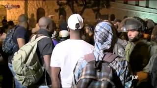 יומן עם אילה חסון - הפגנת העדה האתיופית בירושלים והעימותים עם השוטרים | כאן 11 לשעבר רשות השידור