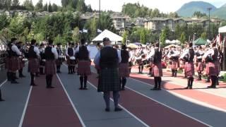 Dowco Triumph Street - Medley - BC Highland Games 2015