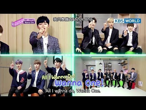 Idol Weekly Interview with Wanna One [KBS World Idol Show K-rush2 / 2017.12.08]