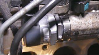 Особенности демонтажа клапана ограничения давления топлива DBV на Kia Sorento 2.5