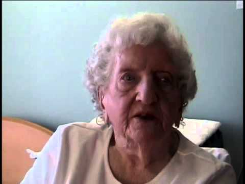 Virginia Goodwin Cavanaugh, nee Holt, Ensign, US Navy, World War Two, 2012 Interview