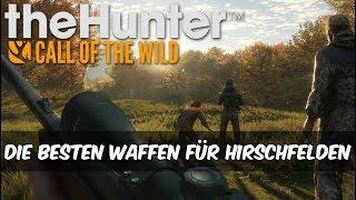 theHunter Call of the Wild - Die besten Waffen für Hirschfelden