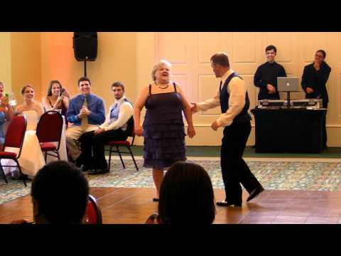 Mother and Son's Fun First Dance