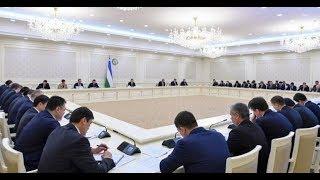 Президент Шавкат Мирзиёев 6 февраля 2019г. провел видеоселекторное совещание