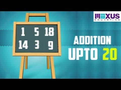 Addition Upto 20 - YouTube