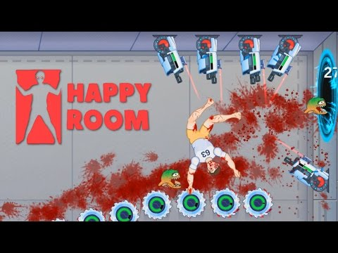 Happy Room - Best Killing Machine Ever! - Let's Play Happy Room Gameplay - Happy Wheels in a Room!