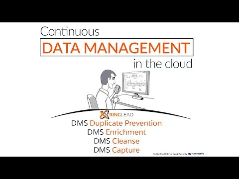 End-To-End Data Management Solution in the Cloud - RingLead DMS
