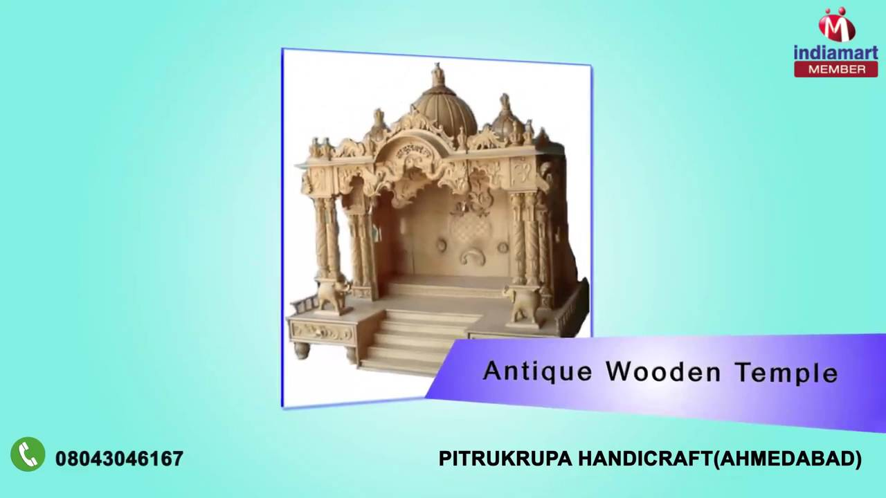 Premium Quality Wooden Temples And Furniture By Pitrukrupa Handicraft,  Ahmedabad