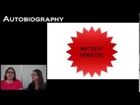 Genre Study: Biography, Autobiography, & Memoir