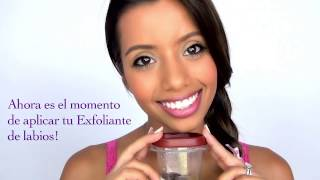 Exfoliante de labios natural