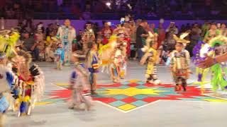Tiny Tots - Boys | Gathering Of Nations Powwow 2018