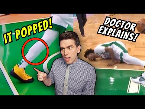 When Marcus Smart's Calf POPS in SCARY Injury Moment! Doctor Explains What Happened