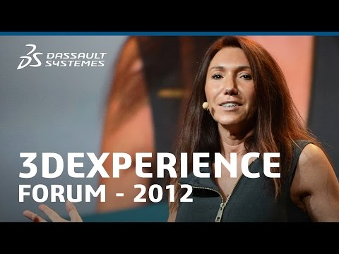 Monica Menghini - Dassault Systèmes Strategy - Innovative Experience (3DEXPERIENCE Forum 2012)