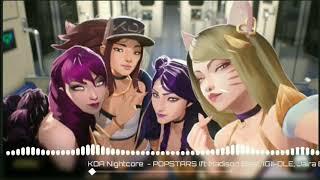 Nightcore - Popstar K/DA (without lyrics)