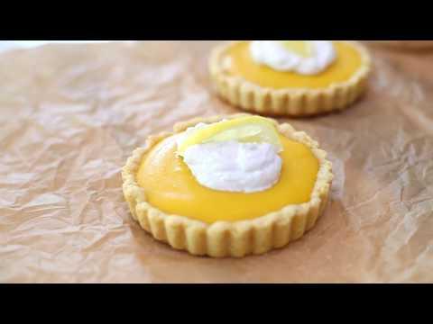 How to Make a Healthy Lemon Tart with Gluten-Free Almond Flour Crust