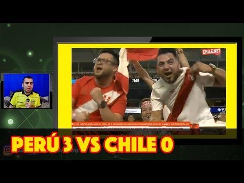 Mexicano reacciona al Perú 3 vs Chile 0