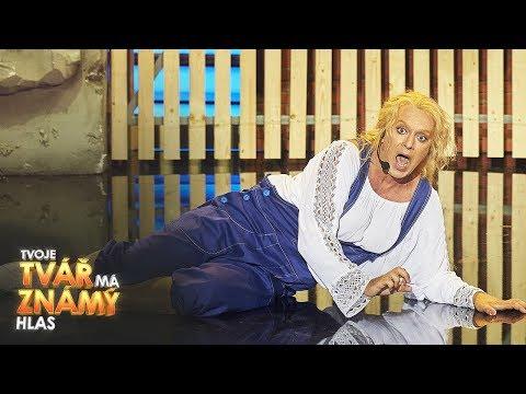 "Tomáš Matonoha jako Meryl Streep ""Mamma Mia"" | Tvoje tvář má známý hlas"