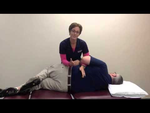 Demonstration of Lumbar Gapping: Manipulation of the Larger Patient Part 3