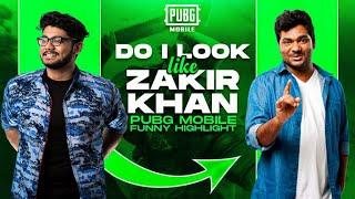 DO I LOOK LIKE ZAKIR KHAN? || PUBG MOBILE FUNNY HIGHLIGHTS! - H¥DRA | Alpha