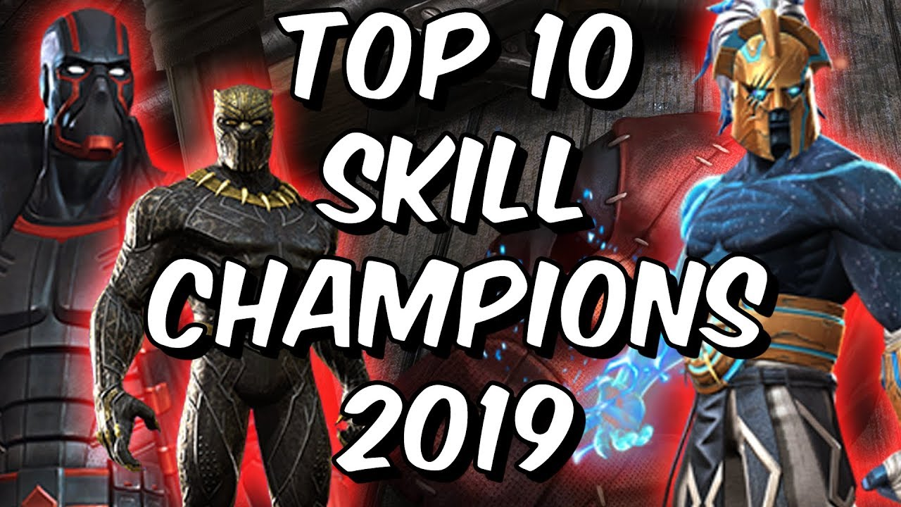 Top 10 Skill Champions 2019 - Marvel Contest of Champions