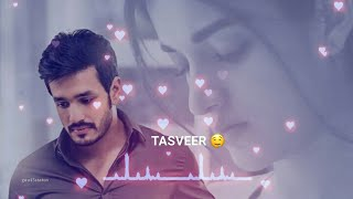 Tumhari tasveer ke sahare || Whatsapp Status || Khairiyat - Arijit Singh || Very Sad status