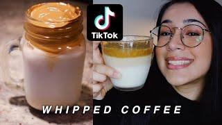 HOW TO MAKE WHIPPED COFFEE  TIK TOK TREND