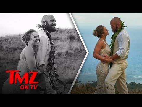 First Photos Of Ronda Rousey's Wedding | TMZ TV