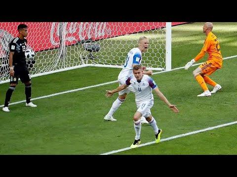 Fussball Wm Island Ringt Argentinien Ein 1 1 Ab