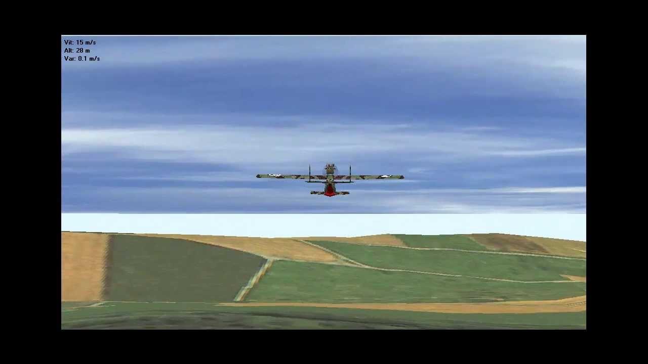 simulateur de vol fms