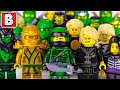 Gambar cover Every LEGO Lloyd Minifigure EVER MADE!!!   2018 NINJAGO Collection Update