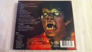 Michael Jackson Thriller 25th Anniversary Zombie Cover (With Slipcase) CD Unboxing