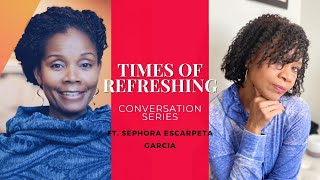 REST STOP Conversation with Sephora Escarpeta-Garcia