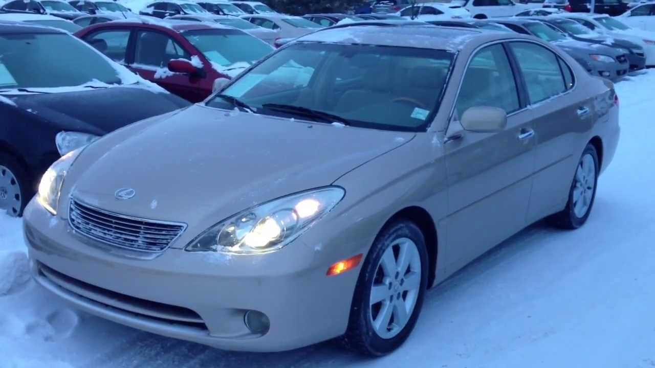 pre owned gold 2005 lexus es 330 4dr sdn calgary youtube pre owned gold 2005 lexus es 330 4dr sdn calgary
