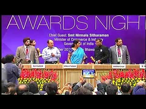 EEPC INDIA  - 46th National Awards for Export Excellence for the year 2013