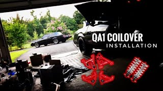 UMI suspension and QA1 Coil-Over Installation G-body Buick Chevy Oldsmobile