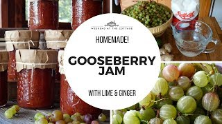 HOMEMADE GOOSEBERRY JAM | Delicious & Flavourful