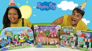 Peppa Pig 's Magical Parade Blind Bag Show !  || Toy Review || Konas2002