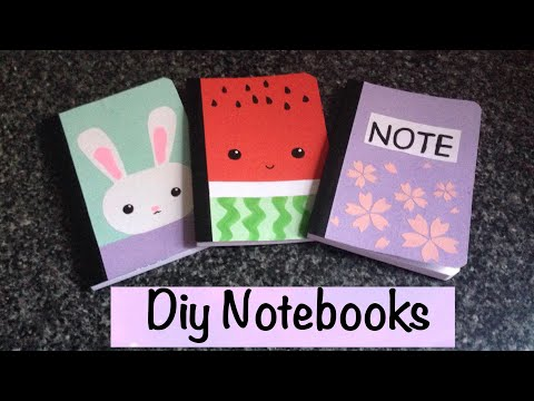 Diy notebook designs for back to school 📚