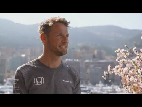 Channel 4 - 2017 Monaco Grand Prix - Jenson Button Interview