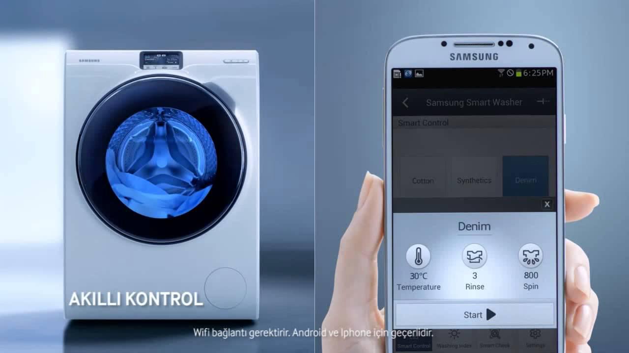 samsung crystal blue ww10h9610ew ama r makinesi youtube. Black Bedroom Furniture Sets. Home Design Ideas