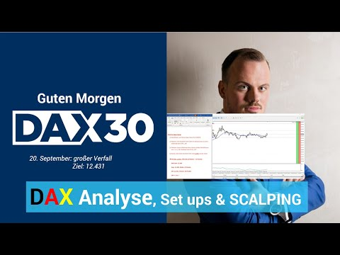 DAX aktuell: Analyse, Trading-Ideen & Scalping | DAX 30 | CFD Trading | DAX Analyse | 20.09.19