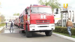 Нефтекамский автозавод поставляет пожарную технику по заказу МЧС