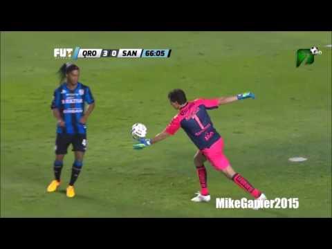 Ronaldinho●The Most Skillful Player Ever ● Skills & Goals 2014   Querétaro FC