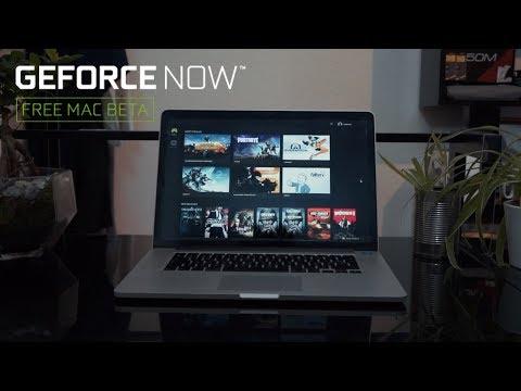 Jeux vidéo sur Mac ? c'est possible avec Nvidia Geforce Now